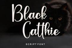 Black Catthie - Script Font Product Image 1