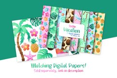 Vacation Watercolor Cliparts Product Image 2