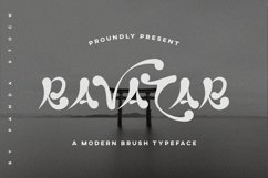 Ravatar Font Product Image 1