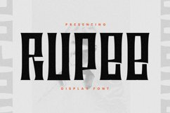 Rupee Font Product Image 1