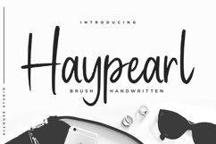 Haypearl Font Product Image 1