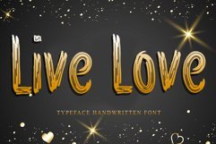 Live Love Product Image 1