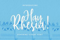 Hay Rhesia Font Product Image 1