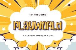 Playworld - Playful Display Font Product Image 1