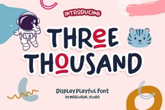 Three Thousand Product Image 1