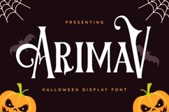 Arimav Font Product Image 1