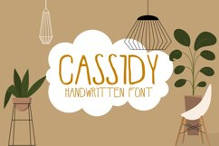 Cassidy - font Product Image 1