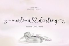 Merlina Darling - Lovely Font Product Image 1