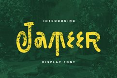 Jameer Font Product Image 1