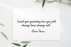 Always Lovely - Handwritten Font Product Image 6