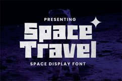 Spacetravel Font Product Image 1