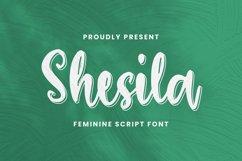 Shesila Font Product Image 2