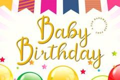 Baby Birthday Product Image 1