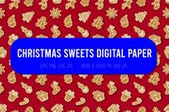 Christmas seamless pattern  Christmas digital paper Product Image 1