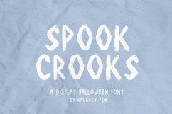 Spook Crooks Halloween Display Font Product Image 1