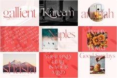 Modern Font Bundle Product Image 3