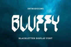 Bluffy Font Product Image 1