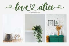 willow alice - A Lovely Font Product Image 6
