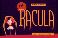 Racula - A Gothic Serif Font Product Image 1