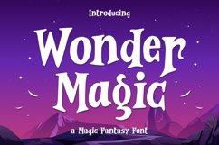Wonder Magic - a Magic Fantasy Font Product Image 1