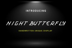 Night Butterfly Product Image 1