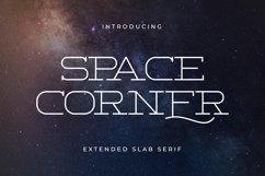 Space Corner - Extended Slab Serif Product Image 1