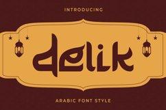 Delik - Arabic Font Product Image 1