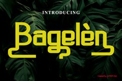 Bagelen Product Image 1