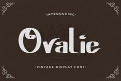 Ovalie - Vintage Display Font Product Image 1