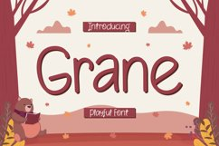 Grane - Playful Font Product Image 1
