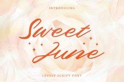 Sweet June - Lovely Script Font Product Image 1