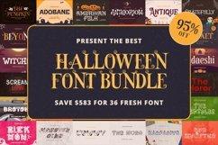 The Best Halloween Font Bundle Product Image 1