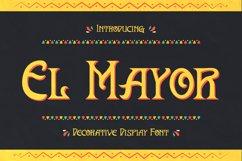 El Mayor - Display Decorative Font Product Image 1