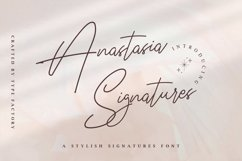 Anastasia Signature - Stylish Signature Font Product Image 1
