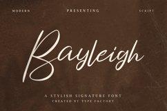 Bayleigh - Stylish Signature Font Product Image 1