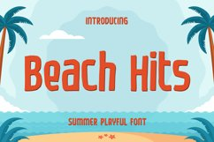 Beach Hits - Summer Playful Font Product Image 1