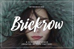 Brickrow - Script Typeface Product Image 1