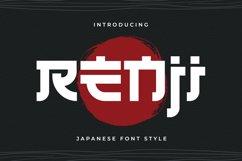 Renji - Japanese Style Font Product Image 1