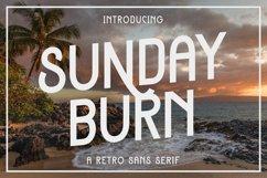 Sunday Burn - A Retro Sans Serif Product Image 1