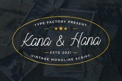 Kana & Hana - Vintage Monoline Script Product Image 1