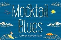 Mocktail Blues - Summer Rough Font Product Image 1