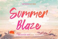 Summer Blaze - Summer Brush Font Product Image 1