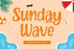 Sunday Wave - Decorative Font Product Image 1