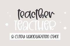 Teacher- A Cute handwritten font Product Image 1