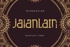 Jalanlain Font Product Image 1