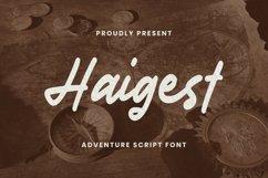 Haigest Font Product Image 1