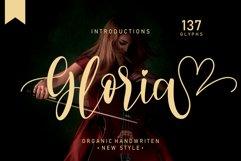 Gloria| handwritten font Product Image 1