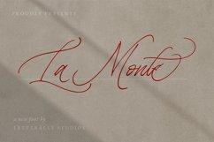 La Monte Calligraphy Font Product Image 1