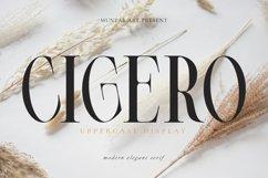 Cigero   Modern Serif Product Image 1