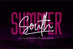 Summer South - STYLISH FONT DUO Product Image 1